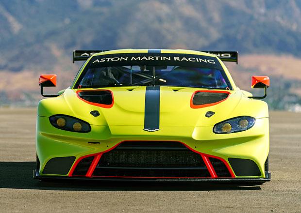 Aston Martin Vantage GTE: Novinka v ostřejším hávu pro vytrvalostní závody