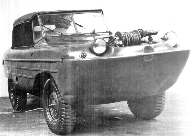 Také Škoda měla svého obojživelníka. Připomeňte si její neznámý prototyp 972