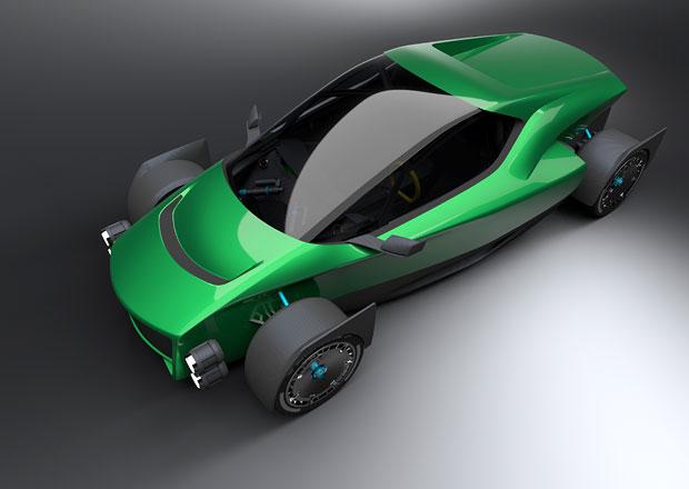 Tahle střela chce být přemožitel extrémně rychlé Tesly Roadster. Staví ji... Číňané!
