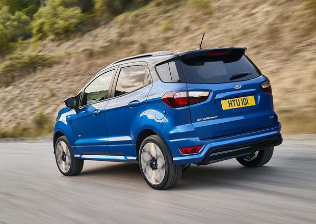 Další malé SUV se hlásí o vaší pozornost. Kolik stojí nový Ford EcoSport?