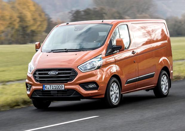 Ford Transit Custom se představuje v omlazené podobě