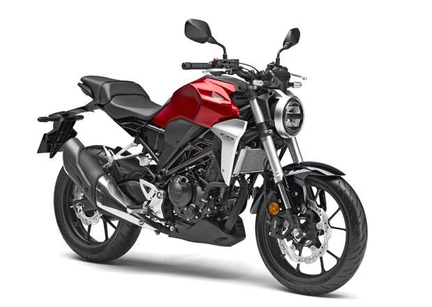 Honda CB300R sází na podobný vzhled jako CB1000R