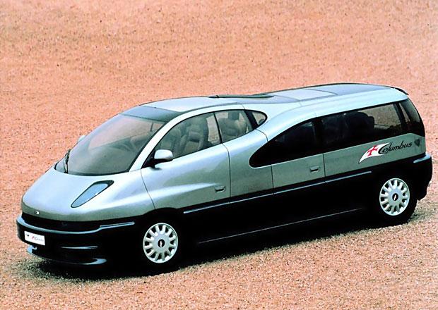 Ital Design Columbus (1992): Silniční boeing měl sedm křesel a V12 od BMW