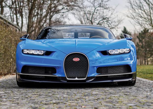 Je libo Bugatti Chiron? Kupte si krásný kousek ze Slovenska!