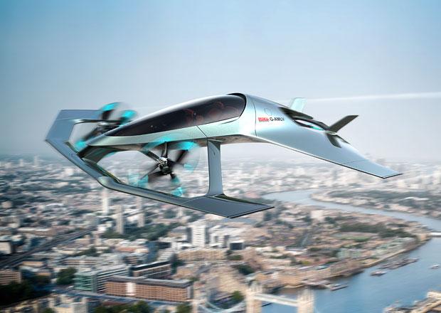 Aston Martin se vydává do vzduchu s projektem Volante Vision Concept
