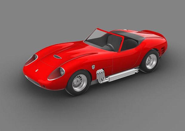 Scuderia Cameron Glickenhaus 006 spojí vzhled klasického Ferrari s výkonem přes 650 koní