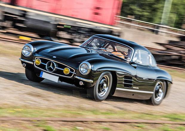 Ukradli mu speciální Mercedes 300 SL, zloději nabízí odměnu za vrácení