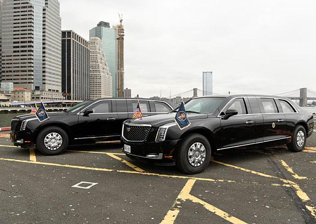 Donald Trump má konečně novou Bestii. Americký prezident si novou limuzínu převzal v tichosti