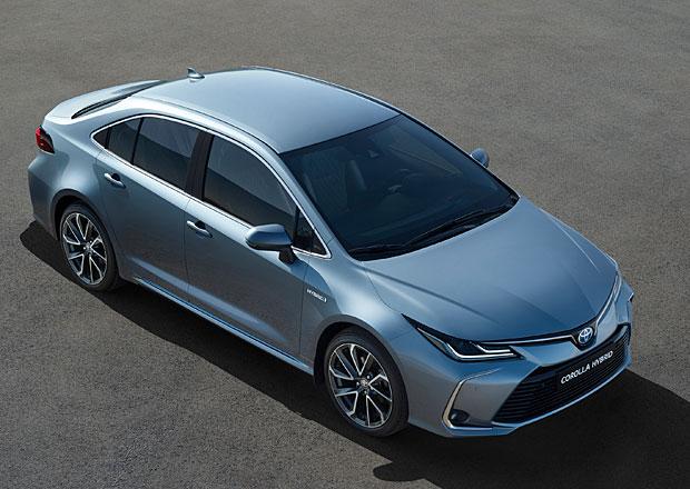 Nová Toyota Corolla se představuje jako sedan. V Evropě poprvé nabídne hybrid