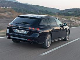 Jízdní dojmy s Peugeotem 508 SW: I kombík je stále nízko nad zemí