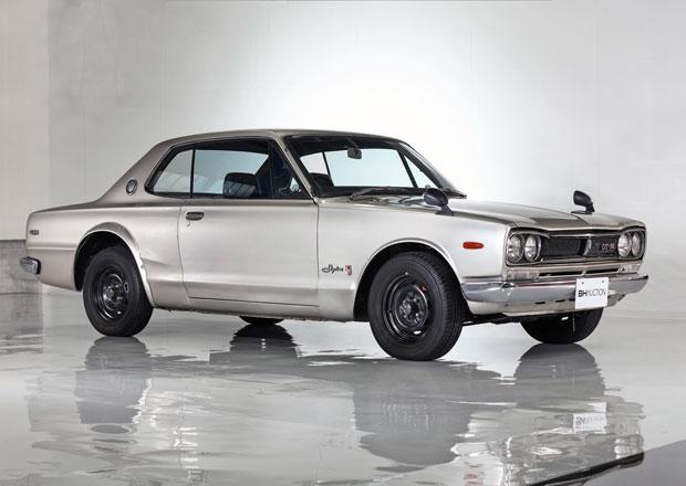Dražit se bude Nissan Skyline GT-R z roku 1972. Po prvním majiteli