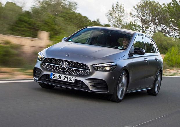 Nový Mercedes-Benz B odhaluje české ceny. Nabízí výhradně automat
