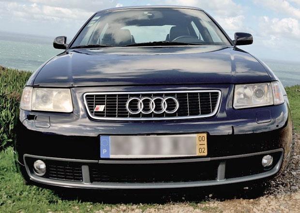 Audi S3 Quattro fotbalisty Cristiana Ronalda je na prodej