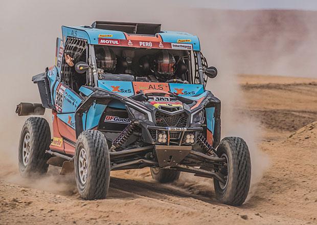 Rallye Dakar 2019, 8. etapa: Loprais i Prokop drží pozice