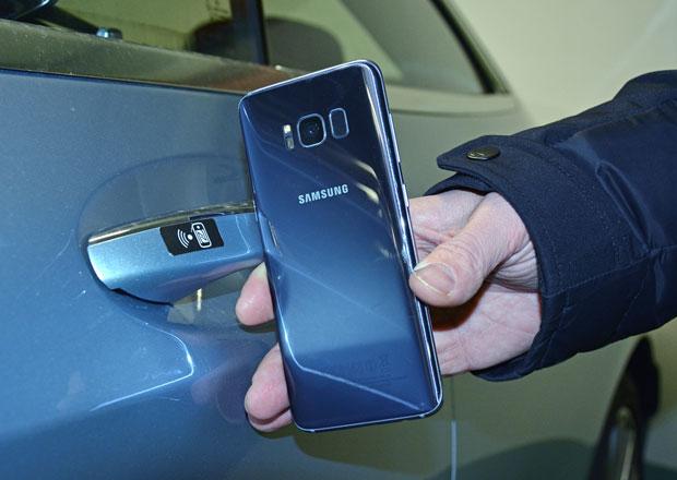 Odemykání s NFC: Když si auto odemknete mobilem