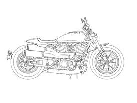 Začíná se rýsovat sériová podoba revolučních novinek značky Harley-Davidson?