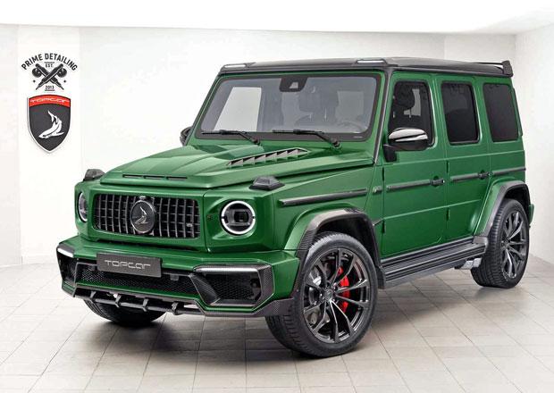 Ruský TopCar si vzal do parády nový Mercedes-Benz G a výsledkem je Inferno