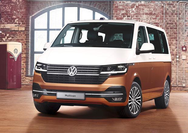 Volkswagen Multivan 6.1: Kompletní omlazení designu, techniky i výbavy