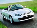 MG TF se stal kabrioletem roku 2002