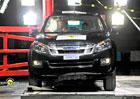 Euro NCAP 2012: Isuzu D-Max – Čtyři hvězdy pro dvojče Chevroletu Colorado