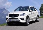 Mercedes ML 250 BlueTec Entry: Třída M za 1,37 milionu korun