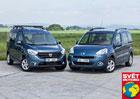 Dacia Dokker 1.5 dCi vs. Peugeot Partner Tepee 1.6 HDi - Rodinná brigáda