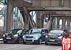 Nissan Qashqai vs. Škoda Yeti vs. Opel Mokka