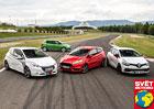 Ford Fiesta ST vs. Peugeot 208 GTi vs. Renault Clio R.S. vs. Škoda Fabia RS