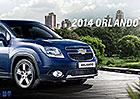 Chevrolet Orlando 2014: Decentní facelift a nová navigace