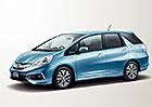 Honda Fit Shuttle: Facelift pro malé japonské kombi
