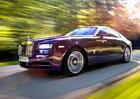 Rolls-Royce Wraith na nových fotografiích a videu