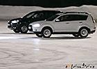 Video: Krasobruslení se dvěma SUV
