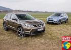 Hyundai ix35 2.0 CRDi 4x4 vs. Nissan Qashqai 1.6 dCi 4x4