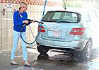 Mercedes-Benz B F-Cell: Voda je v Death Valley vzácná