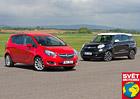 Fiat 500L Living 1.6 vs. Opel Meriva 1.6 CDTI