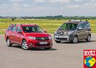 Srovnávací test: Dacia Logan MCV 1.5 dCi vs. Renault Kangoo 1.5 dCi