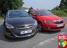 Test spotřeby: Opel Astra Sports Tourer LPG vs. Škoda Octavia Combi G-Tec