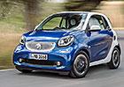 Známe ceny vozů Smart Fortwo a Forfour, začínají na 281.000 Kč