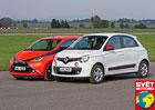 Renault Twingo 1.0 SCe vs. Toyota Aygo 1.0 VVT-i