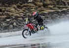 Rallye Dakar, 8.etapa: Nepřízeň počasí jezdce zaskočila