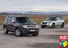 Srovnávací test: Jeep Renegade 1.6 MultiJet vs. Škoda Yeti 2.0 TDI