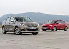 Citroën C4 1.2 PureTech vs. FordFocus 1.0 EB