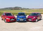 Ford Fiesta 1.0 EB vs. Mazda 2 1.5 Skyactiv-G vs. Škoda Fabia 1.2 TSI