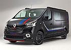 Renault Trafic Formula Edition: Stylové pruhy a alcantara pro francouzskou dodávku