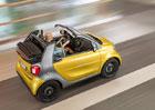 Smart Fortwo Cabrio se ukáže ve Frankfurtu, střechu stáhne za 12 sekund