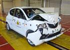 Euro NCAP 2015: Lancia Ypsilon – Jen dvě hvězdy, začala hořet