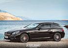 Mercedes-Benz SLC jako Shooting Brake? Ve virtuálním světě nic nemožného.