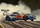 1500koňová Mazda MX-5 driftuje na okruhu (video)