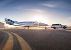 Range Rover pomohl při představení Virgin Galactic SpaceshipTwo