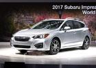 Nové Subaru Impreza se představuje jako hatchback, má nový dvoulitr